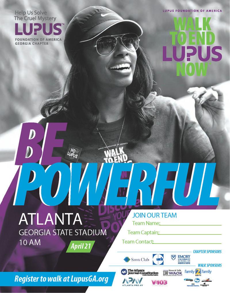 Walk To End Lupus Now April 21st