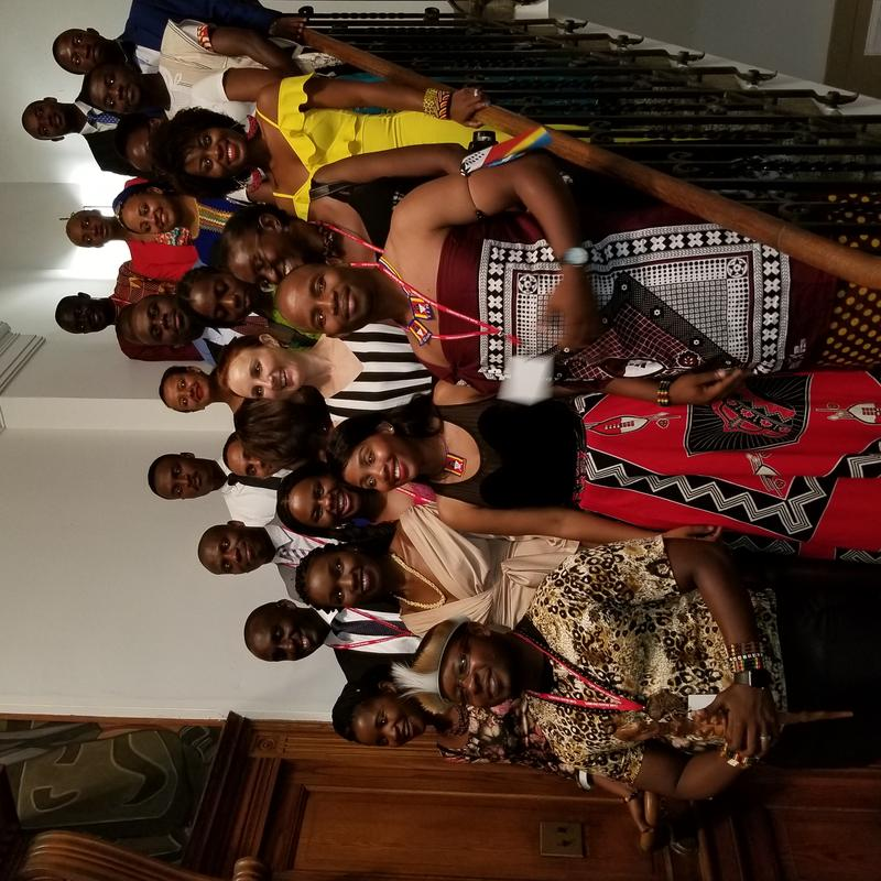The 2018 YALI Fellows at Clark Atlanta University
