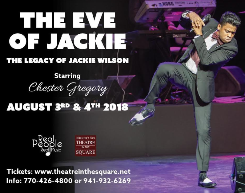 Chester Gregory brings Jackie Wilson to life in his upcoming production The Eve of Jackie