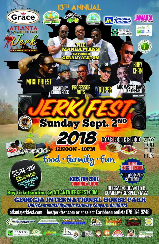 Atlanta Caribbean Jerk Festival 2018