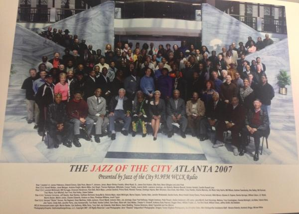 The Jazz of the City, Atlanta 2007 inaugural portrait with Mayor Franklin and the  Atlanta Jazz Community