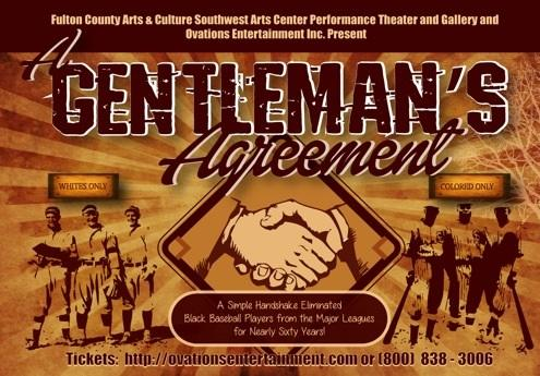 A Gentlemans Agreement And The Baseball Color Line Sw Arts Center
