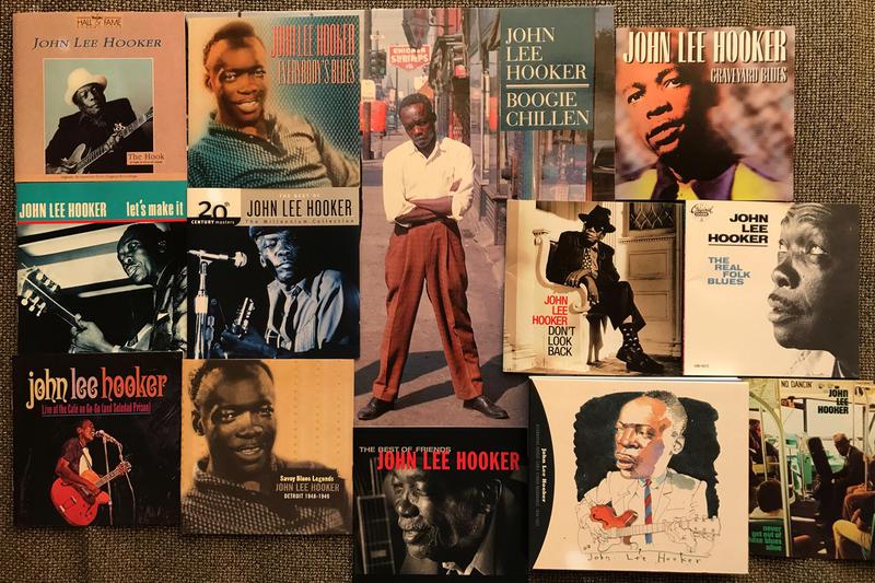 John Lee Hooker, featured artist