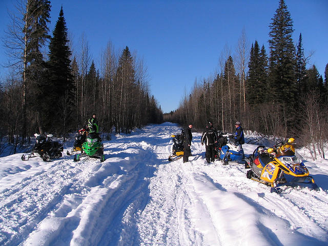 sault ste marie looking to break world record for snowmobiles