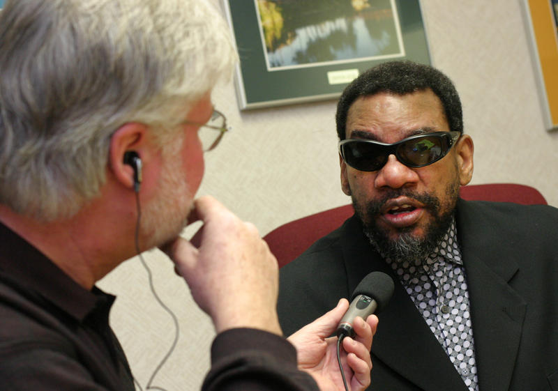 Robert interviewing Henry Butler, 2008