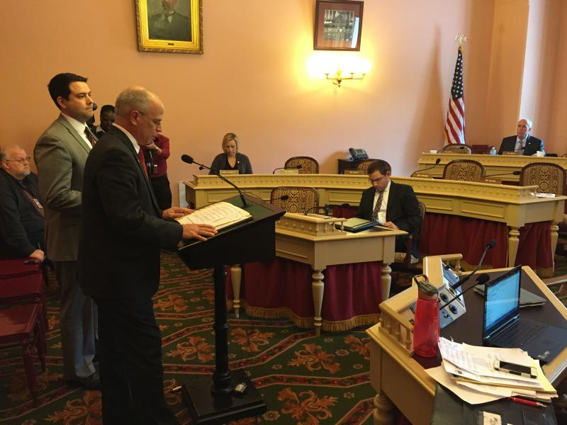 Reps. Kyle Koehler (R-Springfield) and Robert McColley (R-Napoleon)