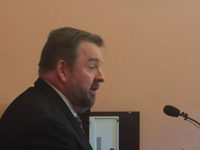 Barry Sheets with Citizens for Community Values testifies in front of Ohio House Committee