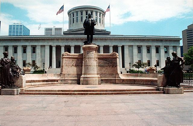 McKinley statue at Ohio Statehouse