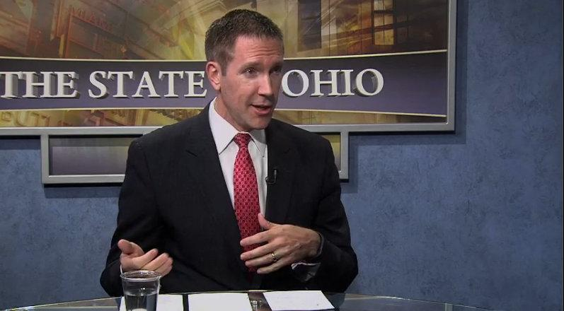 "Rep. Jim Butler (R-Dayton) discusses his proposed Medicaid changes on ""The State of Ohio"" , Sept. 4, 2015."
