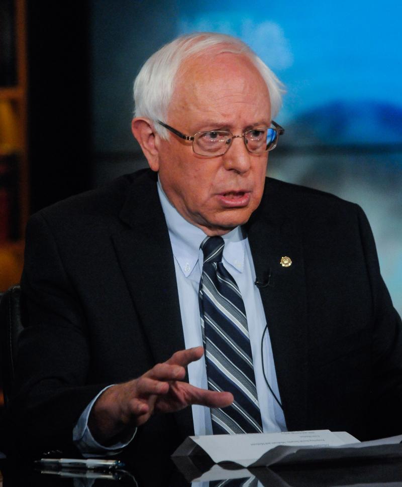 U.S Senator and Democratic Presidential Candidate Bernie Sanders