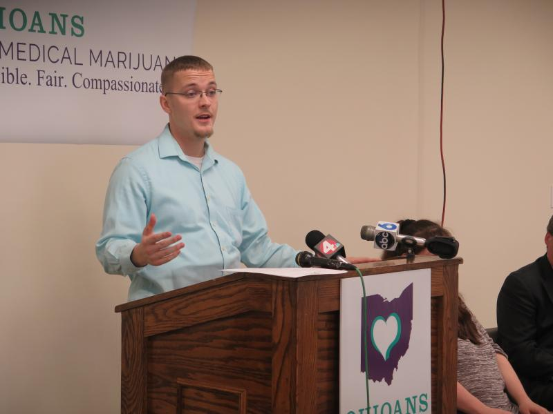 Columbus resident Dane Griffith talks about his health issues.