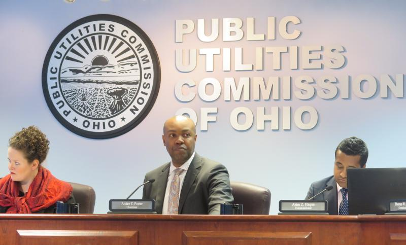 PUCO Chair Andre Porter during commission meeting