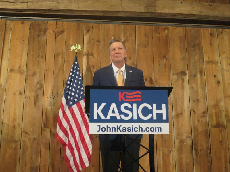 Governor John Kasich suspended his campaign Wednesday May 4, 2016