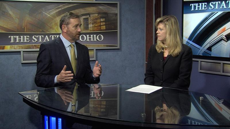 "Auditor Dave Yost with Karen Kasler on ""The State of Ohio"" coming this weekend."