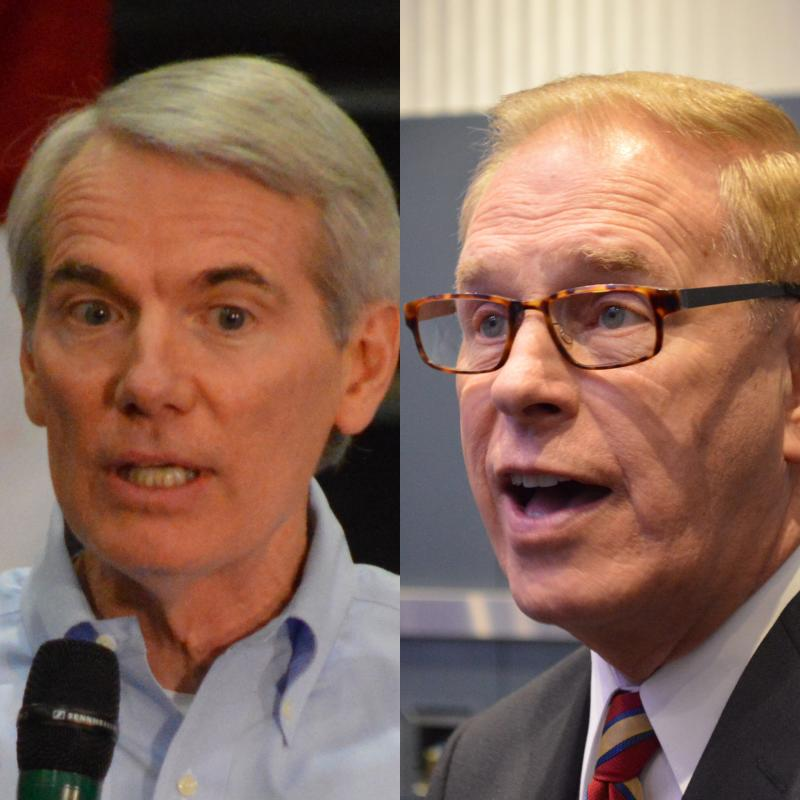 U.S. Sen. Rob Portman (R-Ohio); former Gov. Ted Strickland (D-Ohio)