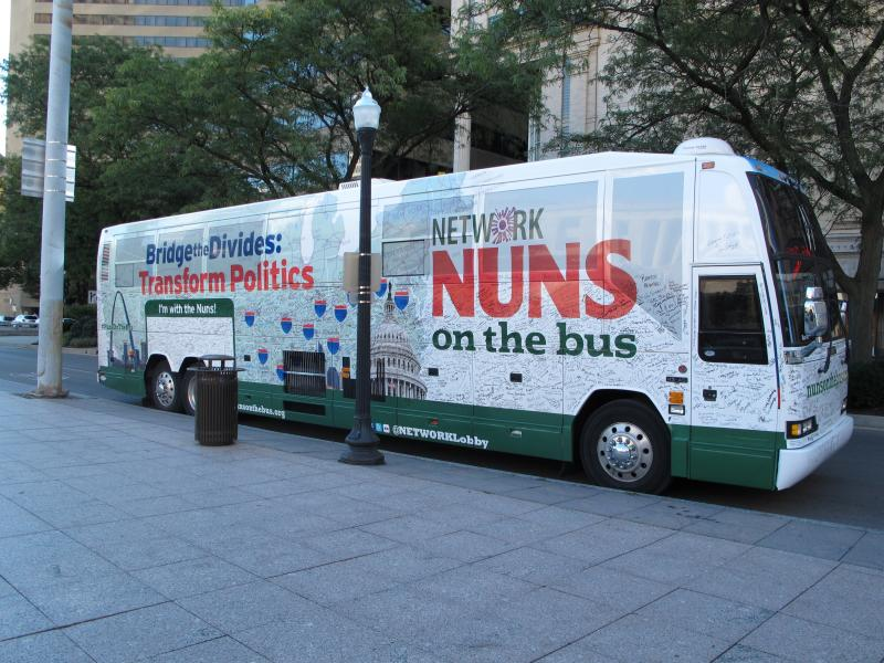 The Nuns on the Bus bus