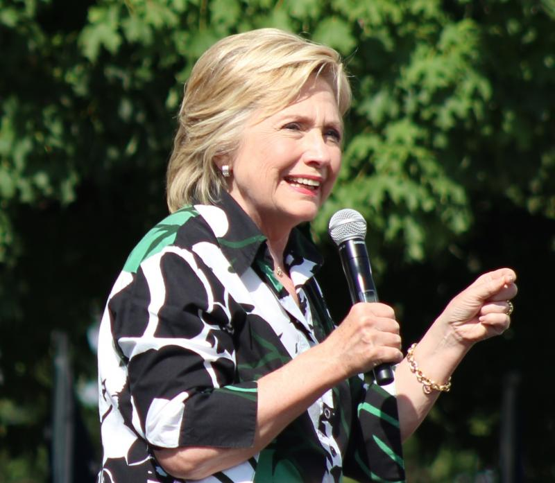 Hillary Clinton in Columbus