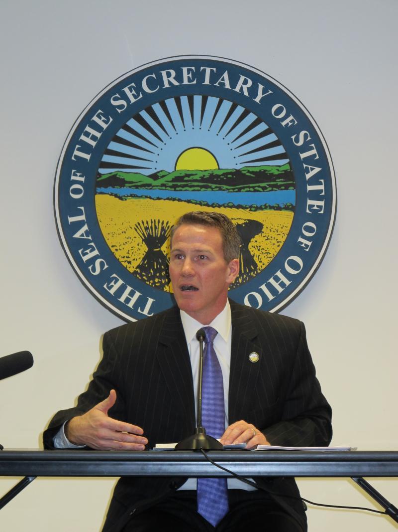 Ohio Secretary of State Jon Husted