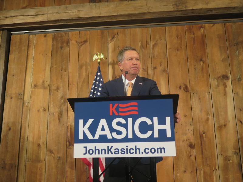 Gov. John Kasich suspended his presidential campaign in May.