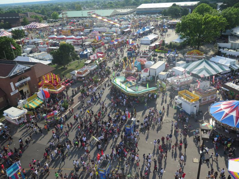 Thousands attended the 2016 Ohio State Fair on the last day of the 12-day event.