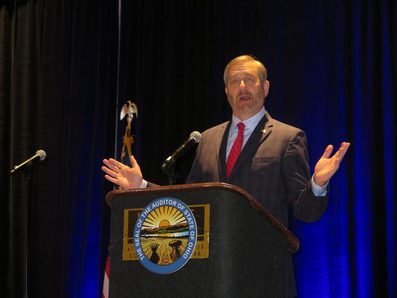 Auditor Dave Yost at the Ohio Charter School Summit in Columbus