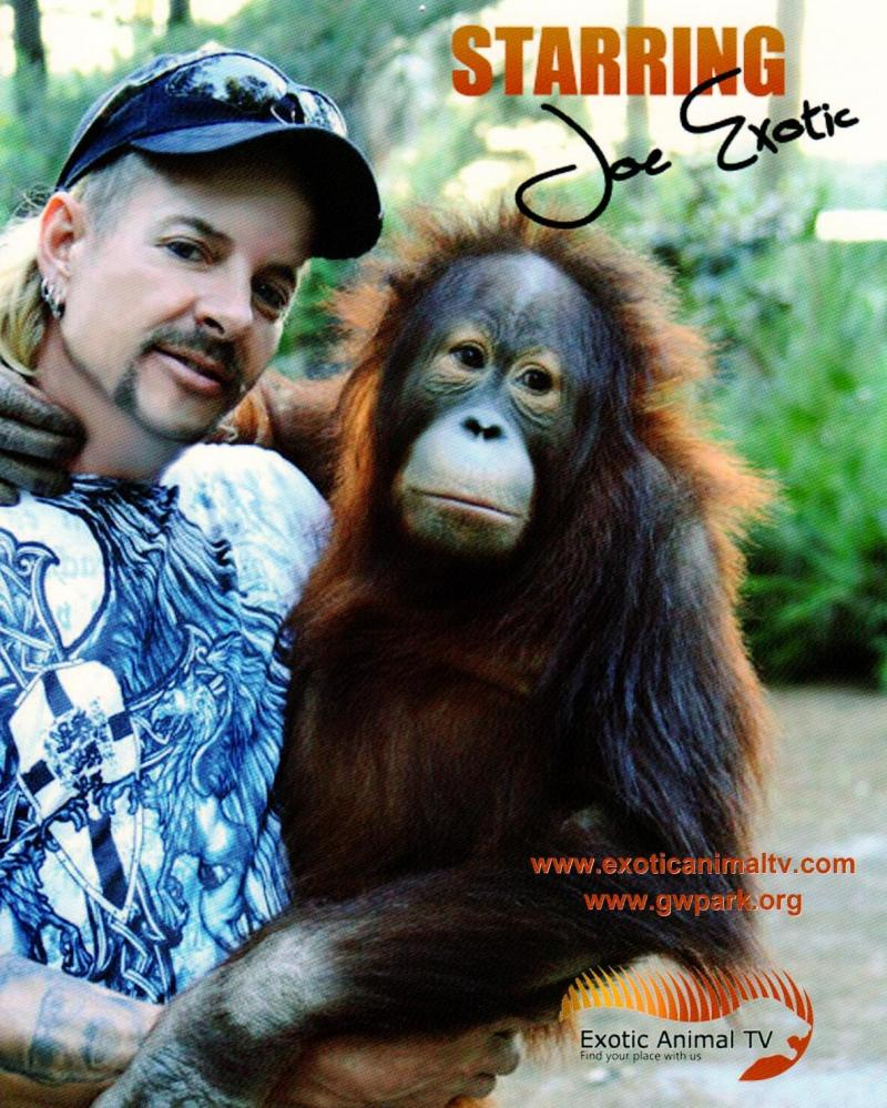 """Write-in candidate Joe Maldonado (also known as """"Joe Exotic"""") runs a wild animal sanctuary in Oklahoma, and in 2012 campaigned against Ohio's exotic animals law."""