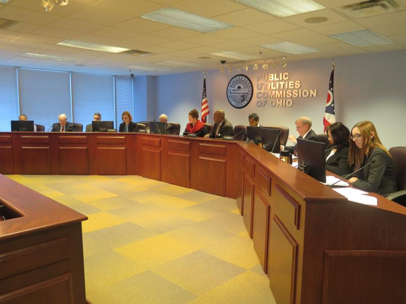 The Public Utilities Commission of Ohio votes in March 2016 on the power purchase agreements for FirstEnergy and AEP.