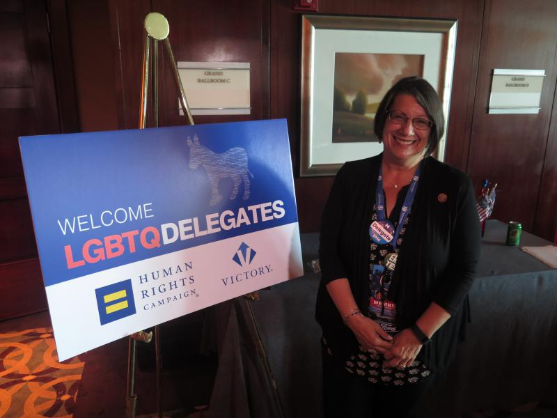 Rep. Nickie Antonio (D-Lakewood) is Ohio's first gay lesbian state lawmaker.