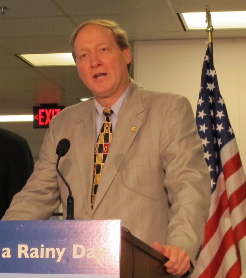 Budget Director Tim Keen at an event in 2013.