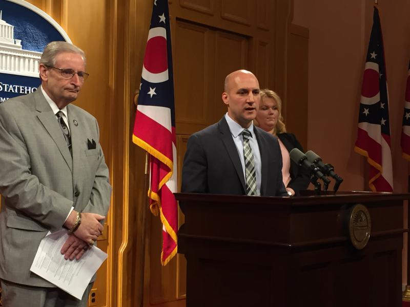 Sen. Joe Schiavoni (D-Boardman) introduces plan to pull $200 million from Ohio's Rainy Day Fund to fight opioid addiction.