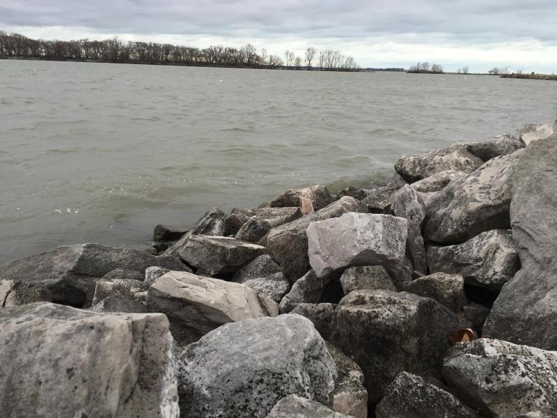 Lake Erie in Sandusky