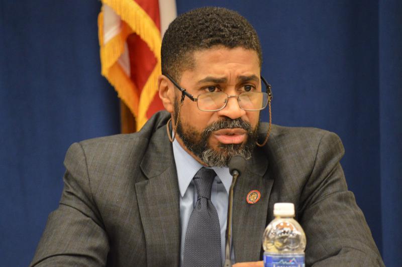 House Minority Leader Fred Strahorn (D-Dayton)
