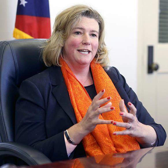 Democratic Dayton Mayor Nan Whaley