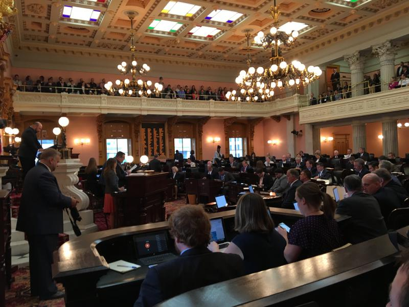 The Ohio House met to considering overriding several of Gov. John Kasich's vetoes on items in the state budget.