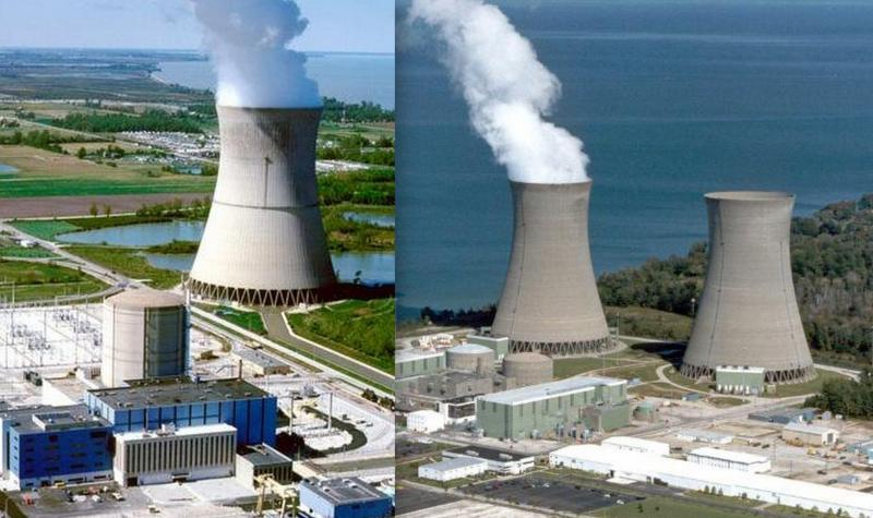 FirstEnergy's Davis Besse and Perry nuclear power plants