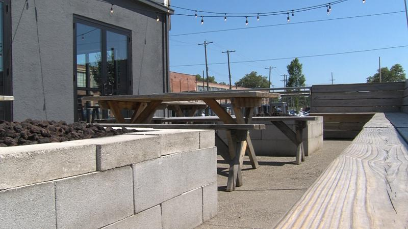 Land Grant Brewing Company used to allow dogs on patios until they received a letter from the Columbus Health Department, telling them to stop.