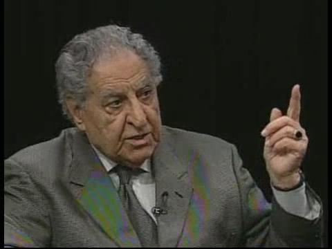 Former Senate President and Ohio Democratic Party Chair Harry Meshel (D-Youngstown) gestures during a 2011 interview.