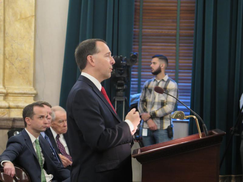 Testifying at Ohio Statehouse