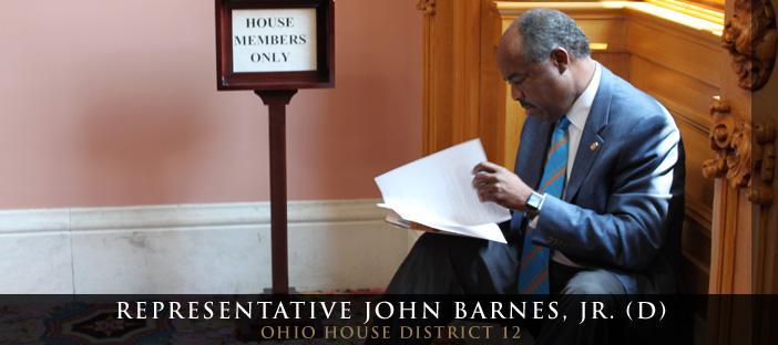 Representative John Barnes (D)