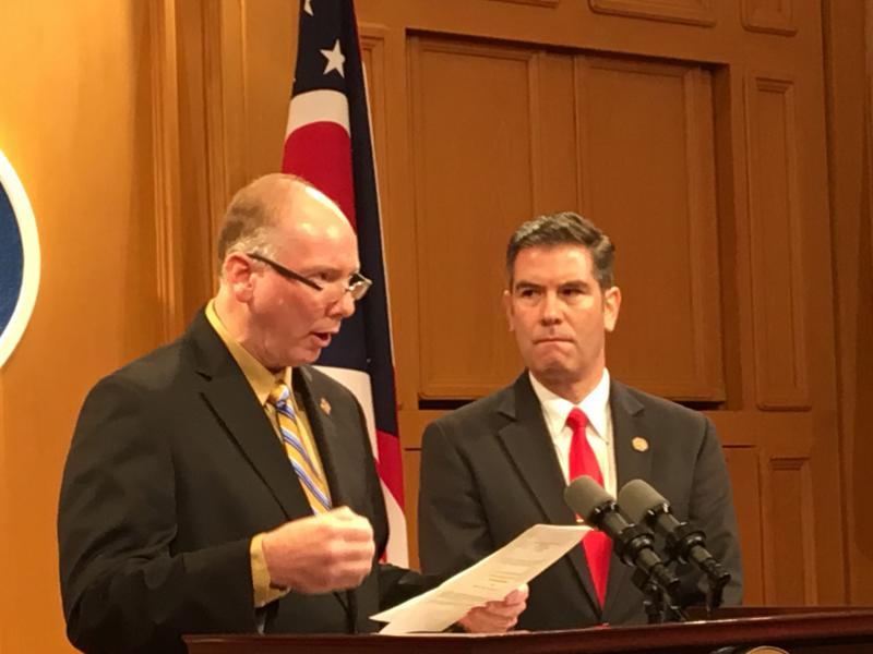 L-R Representatives John Becker and Craig Riedel