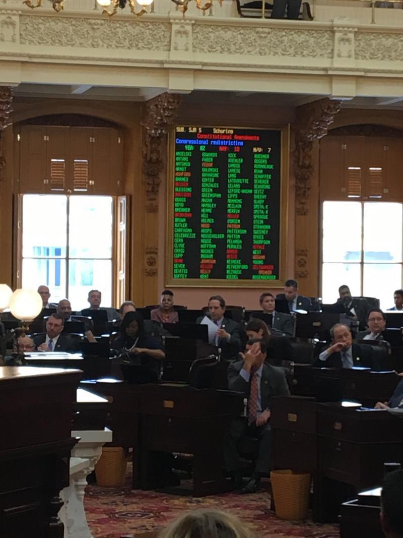 Ohio House Passes Redistricting Plan
