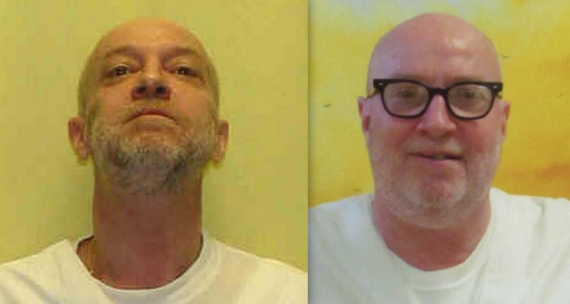 Pictures of Raymond Tibbetts, provided by the state prison system and by Tibbetts' family, via Ohioans To Stop Executions.