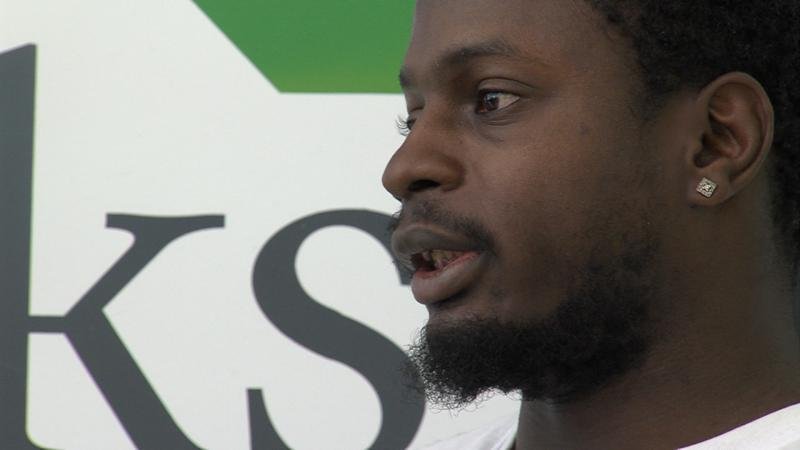 David Givens is a recovering addict who's learning new job skills.