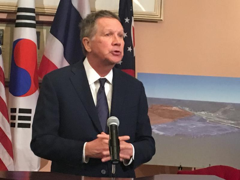 Gov. Kasich talks about cracker facility proposal