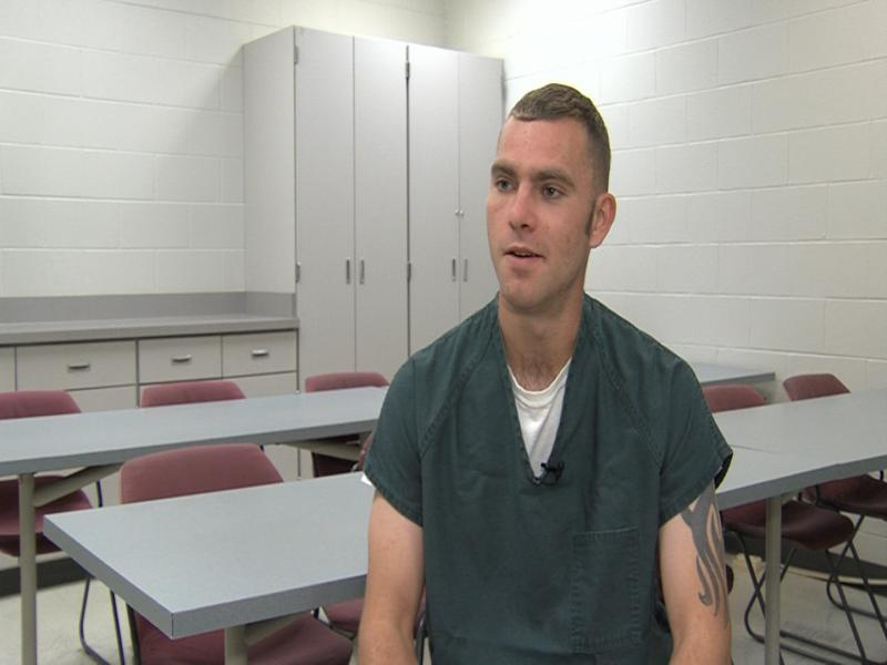 Inmate Travis Orin is in the Pickaway County Jail, and is also in recovery for drug abuse.