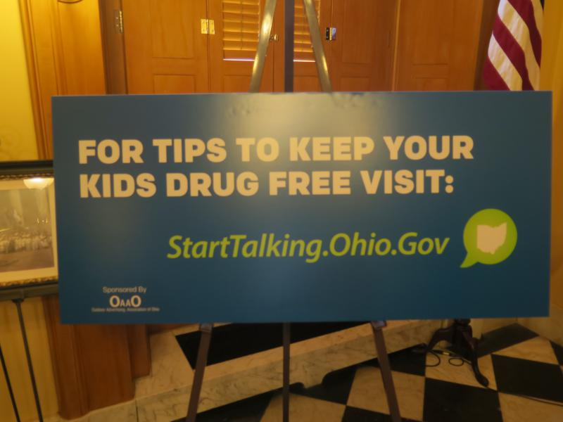 """The state has promoted its """"Start Talking"""" program, unveiling billboards just before Thanksgiving."""