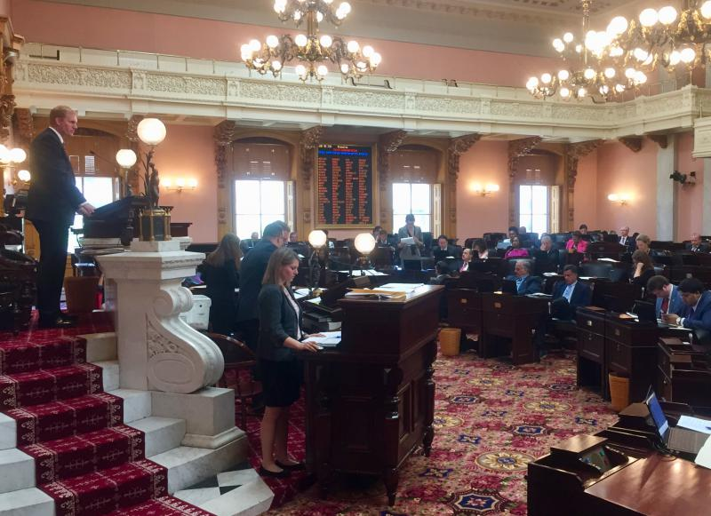 "Ohio House convenes session to pass more than 30 bills, among those bills was the ""Pastor Protection"" Act."