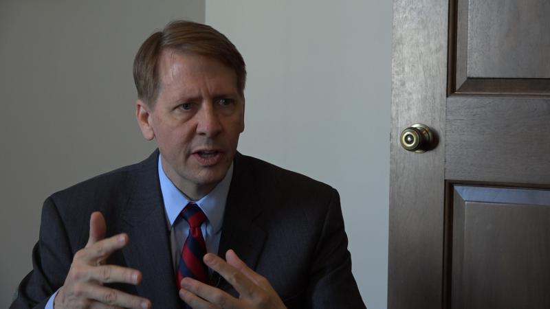 Democratic gubernatorial candidate Richard Cordray