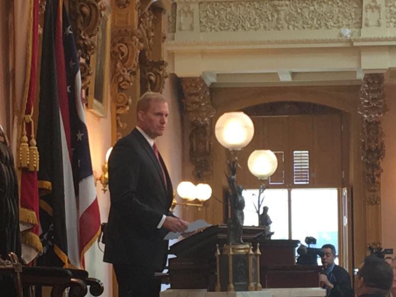 Ohio House Speaker Ryan Smith