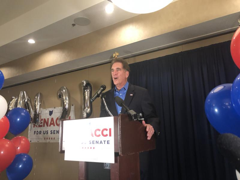 Congressman Jim Renacci speaks at his election night event in Wadsworth, where he served as mayor.